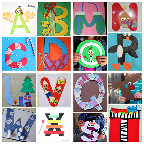 craft ideas for alphabet letters winter alphabet crafts for crafty morning 6125