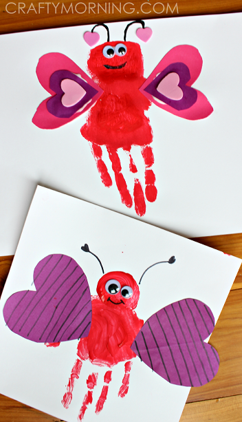 List of easy valentine 39 s day crafts for kids crafty morning for Kids valentines day craft