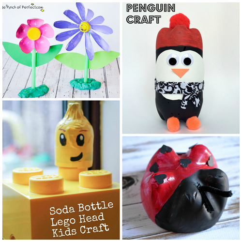 Soda Bottle Craft Ideas For Kids To Make Crafty Morning