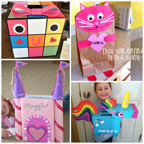 the cutest valentine boxes that kids will love crafty morning - Valentine Boxes For Girls