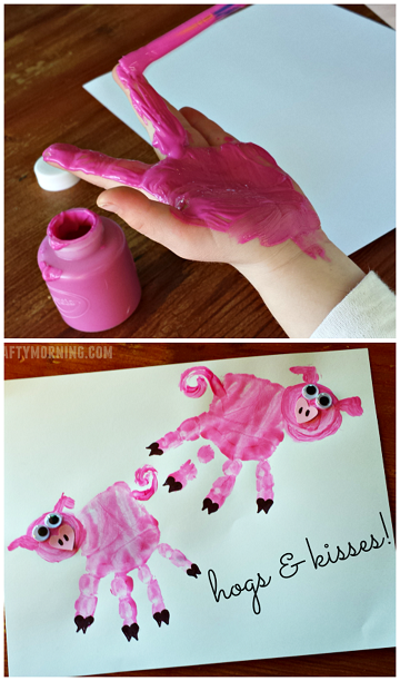 cute-handprint-pig-valentine-craft-for-kids-