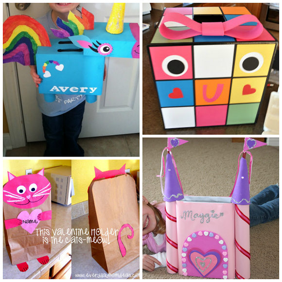 cute valentine boxes for girls