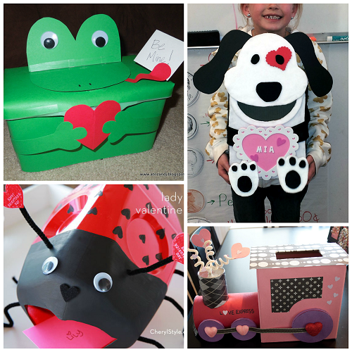 The Cutest Valentine Boxes that Kids will Love Crafty Morning – Valentine Cards Box Ideas