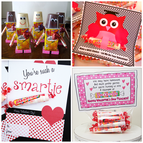 Valentine Ideas for Kids Using Smarties Candy Crafty Morning – Candy Valentine Card