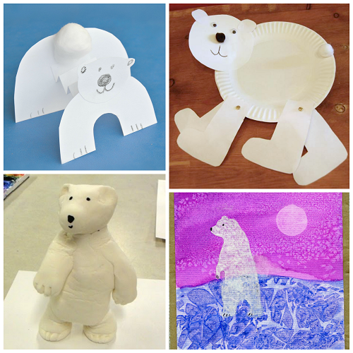 Easy Polar Bear Crafts For Kids