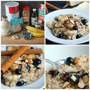 Healthy Oatmeal Recipe (Chia Seeds, Bananas, & More!)