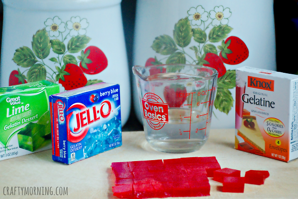 Easy jello gummies for a kids snack crafty morning