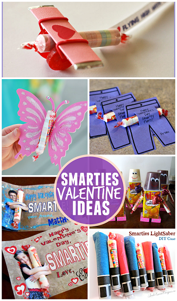 valentine ideas for kids using smarties (candy) - crafty morning, Ideas