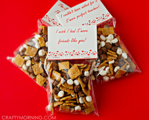 S'mores Valentine's Day Gift Idea (Free Printables)
