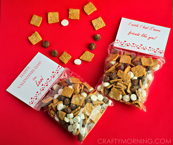 S'mores Valentine's Day Gift Idea (Free Printables ...