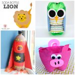 Soda Bottle Craft Ideas for Kids to Make