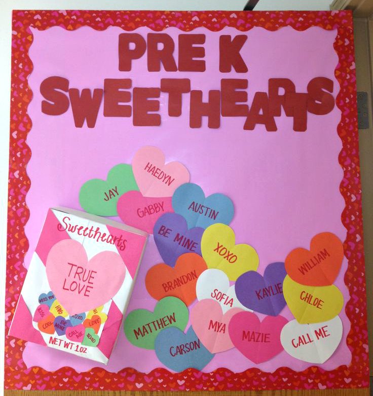 Valentine's Day Bulletin Board Ideas for the Classroom ...