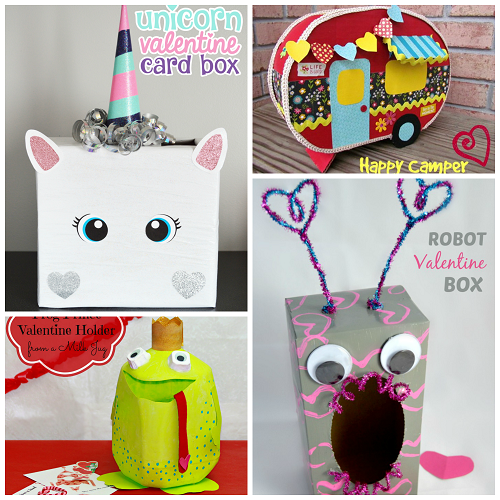 valentine boxes for girls