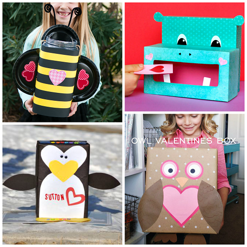 Valentines Day Mailbox Ideas For School