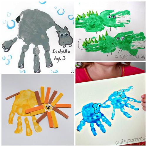 zoo-animal-handprint-crafts
