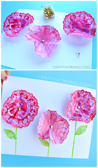 3d-doily-flower-spring-craft-for-kids-
