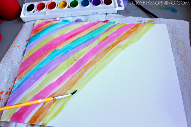 WATERCOLOR-RAINBOW-CLOVERS-KIDS-CRAFT