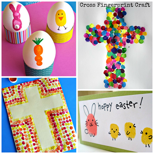 cute-easter-fingerprint-crafts-for-kids