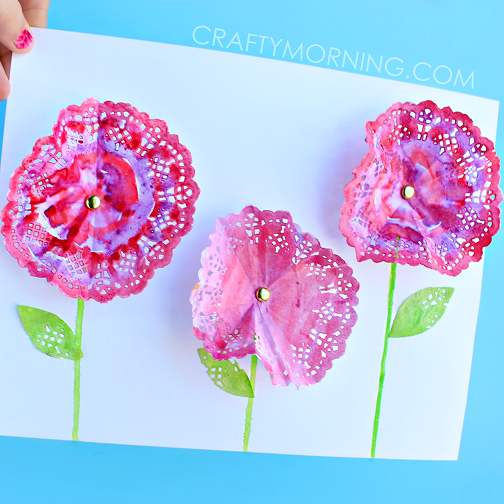 doily-flower-spring-craft-for-kids-