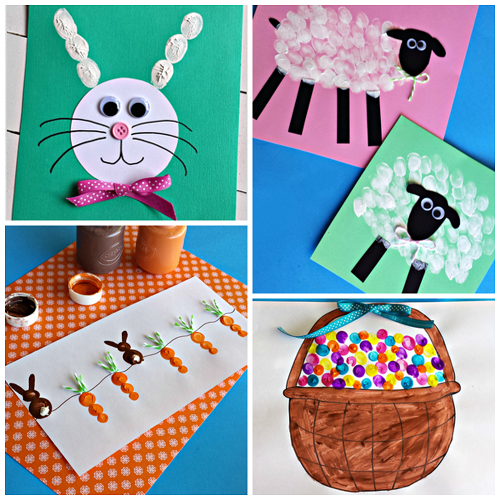 easter-fingerprint-crafts-for-kids-