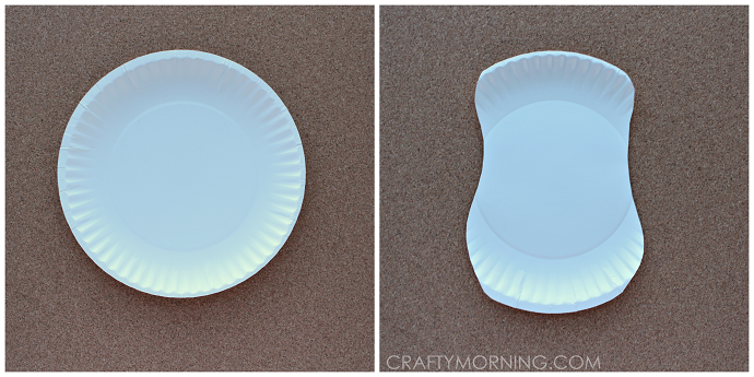 Paper Plate Eeyore Donkey Craft For Kids Crafty Morning & Black And White Paper Plates - Castrophotos