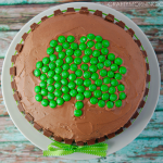 Kit Kat Shamrock Cake (St. Patrick's Day Dessert)