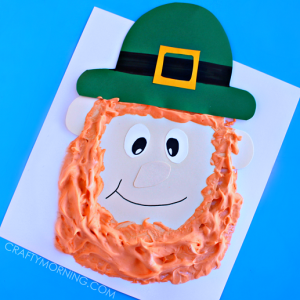 Puffy Paint Leprechaun Craft for Kids