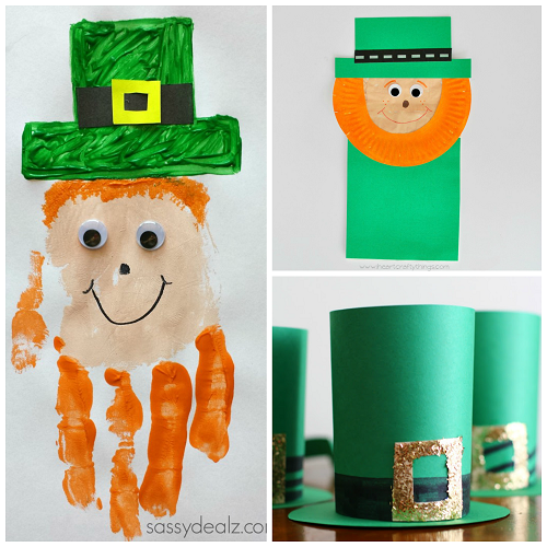 Leprechaun Crafts For Kids To Make On St Pattys Day Crafty Morning