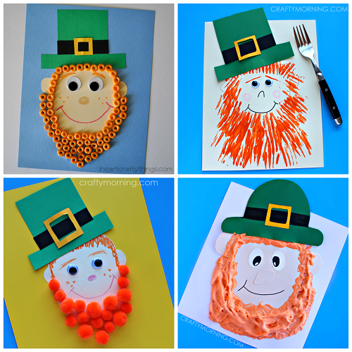 Leprechaun Crafts For Kids St Patricks Day