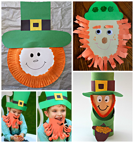 st patrick day craft ideas leprechaun crafts for to make on st patty s day 7187
