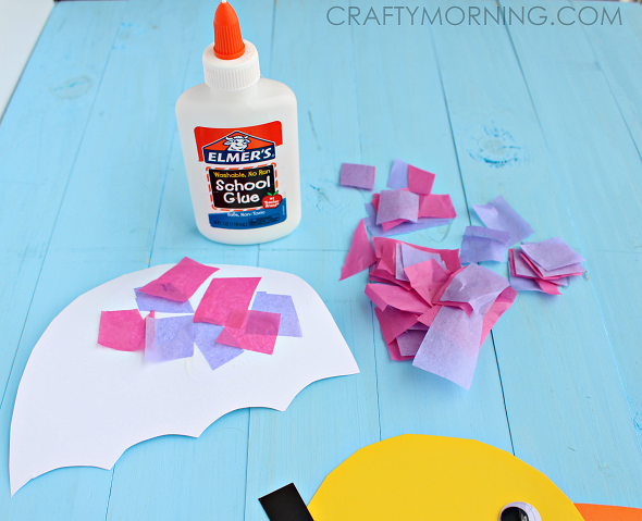 Rainy Day Duck Spring Craft For Kids