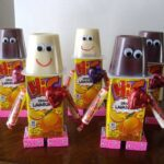 Valentine Robot Snacks for Kids