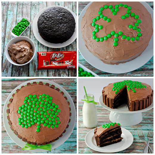 shamrock-kit-kat-st-patricks-day-cake-