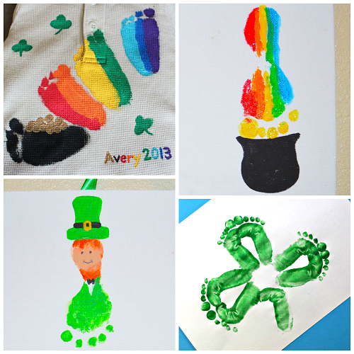 st-patricks-day-footprint-crafts-for-kids