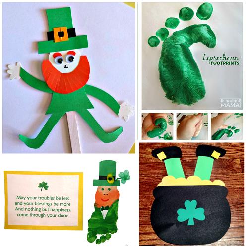 Leprechaun Hat Arts And Crafts