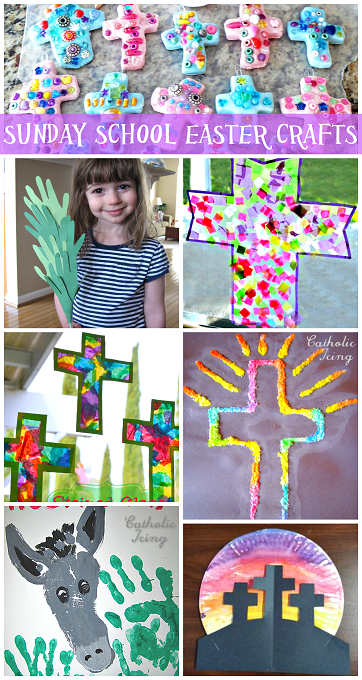 Sunday School Easter Crafts For Kids