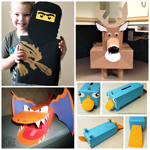 Awesome Valentine Card Boxes Boys will Love Crafty Morning – Valentines Card Boxes