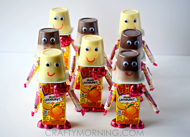 Valentine Robot Snacks For Kids To Make Crafty Morning