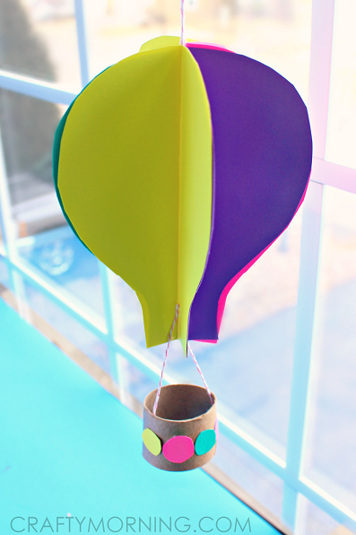 3D-hot-air-balloon-toilet-roll-craft-for-kids