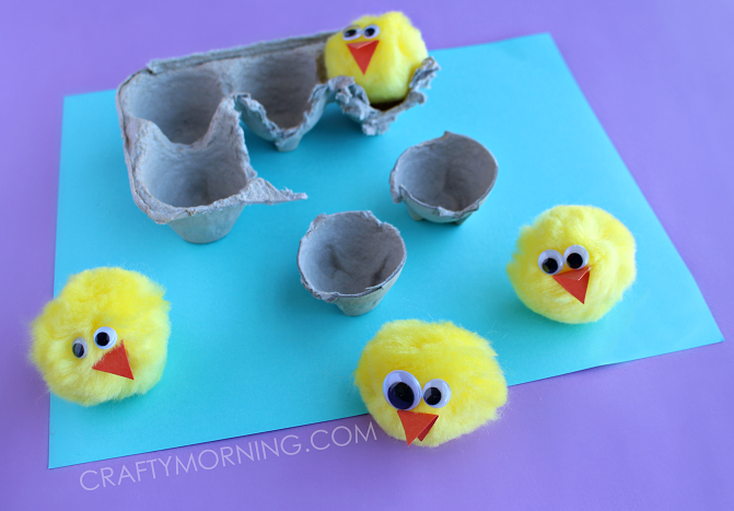 EGG-CARTON-HATCHING-SPRING-CHICKS-KIDS-CRAFT