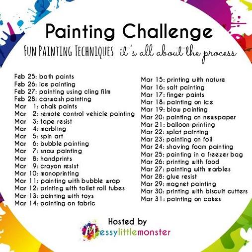 Painting Challenge
