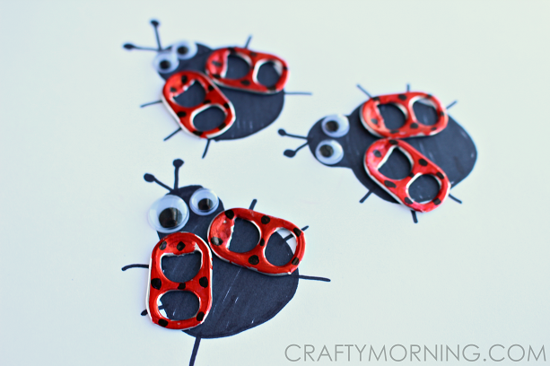 SODA-POP-TAB-LADYBUG-CRAFTS