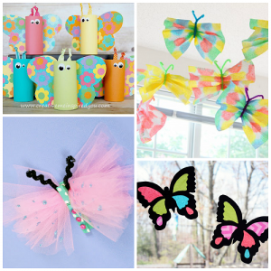 Beautiful Butterfly Crafts for Kids to Make