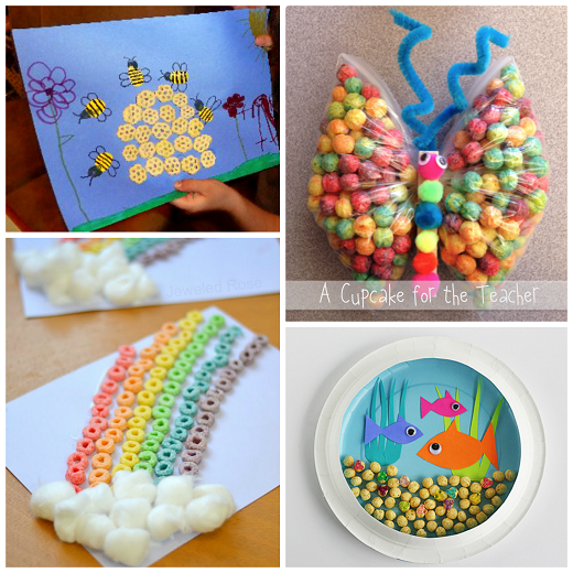 Cereal Crafts For Kids To Make