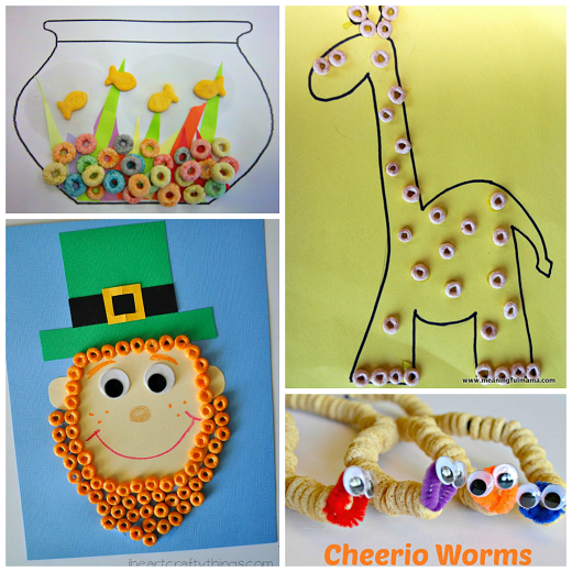 Fantastic kids crafts using cereal crafty morning for Crafts to make for kids
