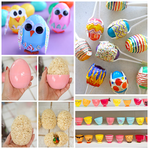 Creative Things To Make Out Of Plastic Easter