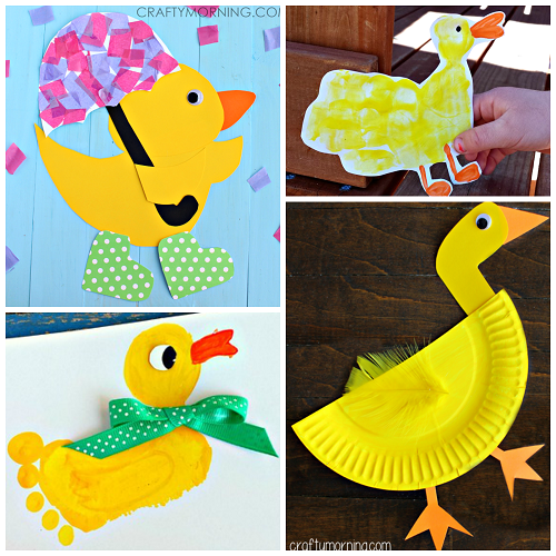 Darling Duck Crafts For Kids To Make Crafty Morning