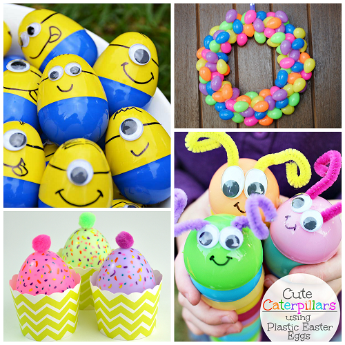 Cute Plastic Egg Crafts To Make