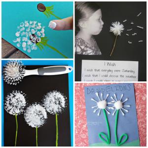 Pretty Dandelion Craft Ideas
