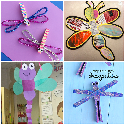 Colorful Dragonfly Craft Ideas For Kids Crafty Morning